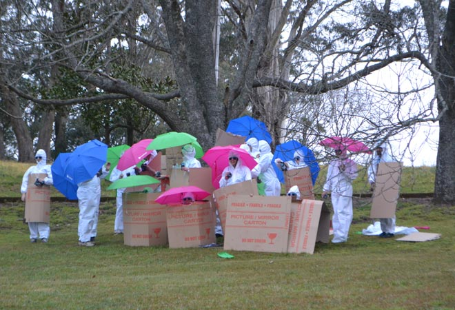 Hunter Valley Events Team Building Activities Clash of Colours