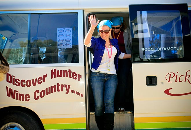 Hunter Valley Events Day Tour