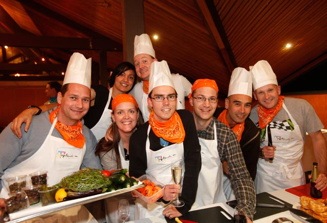 Hunter Valley Events Team Building Activities Hands On with a Chef