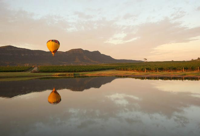 Hunter Valley Events Tours Activities Hot Air Ballooning