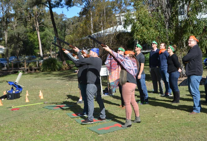 Hunter Valley Events Tours Activities Laser Clay Pigeon Shooting